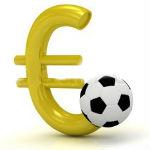 voetbal euroteken