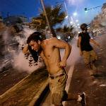 rellen antifascisme betoging