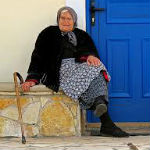 oude griekse vrouw