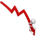 down economie