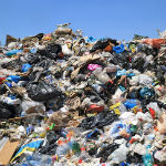 afval stortplaats