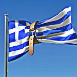 griekse vlag krimp riem
