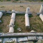 Ook schade op de archeologische sites op Kos