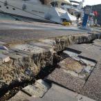 Scheuren in de haven van Kos