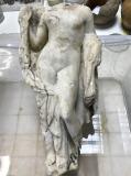 Het beeld van de godin Aphrodite