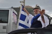 Uit heel het land kwamen Grieken naar Athene