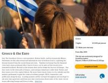 Een crisisreis door Griekenland