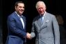 Premier Tsipras en de prins van Wales