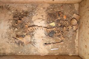 Het graf van edelvrouw 'Neko'