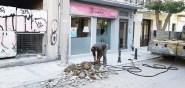 De gebouwen op Zakynthos zijn gebouwd onder strenge voorwaarden
