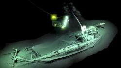 Het 2400 jaar oude Griekse schip op de bodem van de Zwarte Zee Foto: Black Sea Maritime Archaeological Project