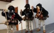 Carnaval op Skyros: De de mannen hullen zich in geitenvellen en dansen met bellen en maskers door de straten