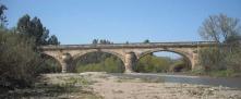 De brug in zijn oude glorie