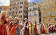 Venetiaans carnaval in Corfu