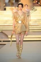 Geïnspireerd op de Griekse godin van de jacht, Artemis