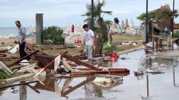 Ongeveer 80 procent van Chalkidiki zit sinds de storm zonder stroom