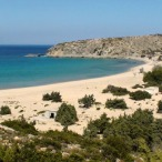 Het Sarakiniko-strand op Gavdos
