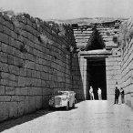 Bij de tombe van Agamemnon