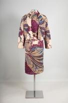 Een jurk geïnspireerd op mozaïeken uit Macedonië (1982)