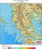 Volgens het Geodynamische Instituut in Athene lag het epicentrum van de aardbeving op 14 kilometer ten noordwesten van Parga, op een diepte van 10 kilometer.