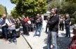 Premier Mitsotakis kwam even uit zijn ambtswoning voor het concert